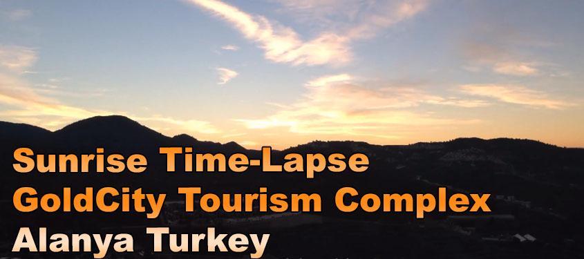 Sunrise Time-Lapse iPhone 5 - GoldCity Tourism Complex Alanya Turkey
