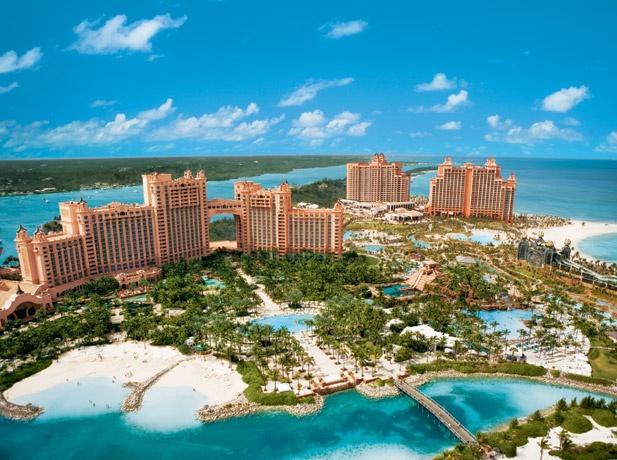 Atlantis на Багамских островах - не предел мечтаний, ты сможешь больше. Bahamas, Atlantis