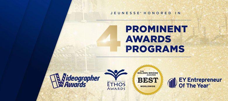 компания Jeunesse компания года 2017 получает 18 наград